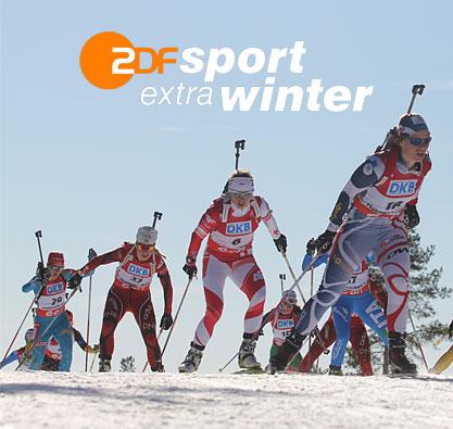 Project ZDFsport extra Biathlon